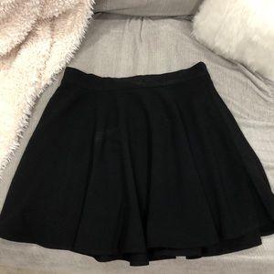 Black, Forever 21 Skater Skirt!